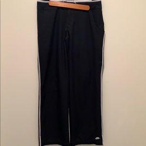 3/$30 Nike black low rise track pants